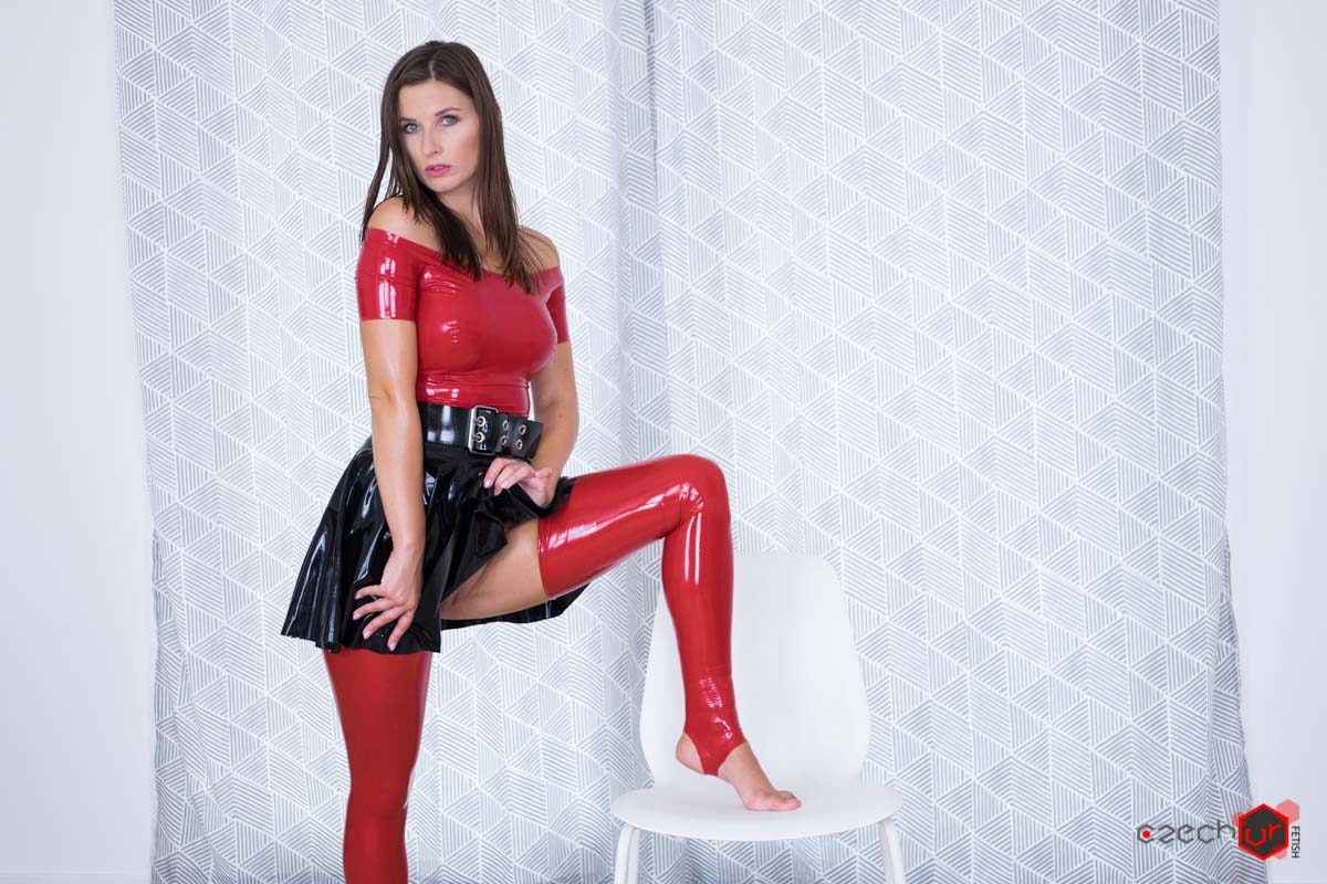... Czech VR 143 - Be Master to Your Latex Slave