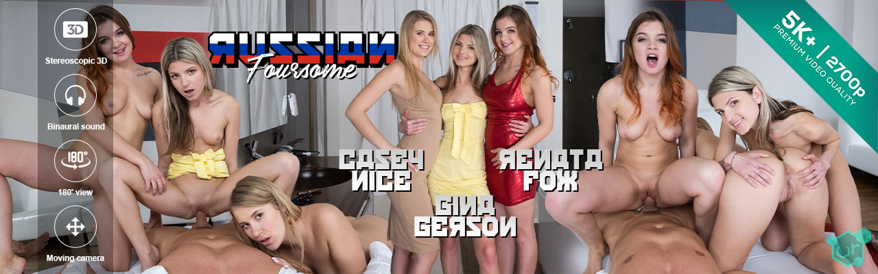 Czech VR Network porn - Russian Foursome